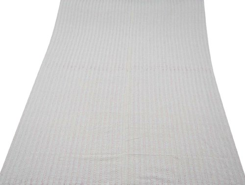Blanco de algodón acolchado reversible Colcha / cubierta floral Reina Tamaño de impresión Gudri Indian Regalo 108 X 84 pulgadas
