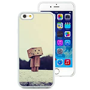 6 Phone cases, Danboard Bo Robot Paris Eiffel Tower White iPhone 6 4.7 inch TPU cell phone case