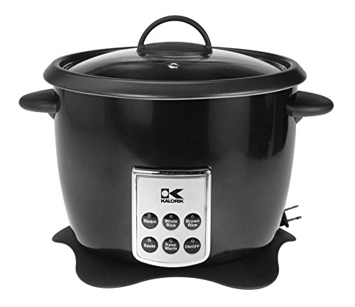 Kalorik RC 41501 BK Kalorik Multifunction Digital Rice Cooker with Retractable Power Cord, Black (Power Rice compare prices)