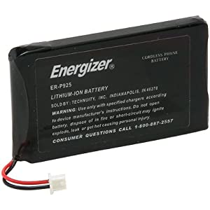 Energizer ER P925 phone battery - Li-Ion ( ER-P925 ) (Discontinued by Manufacturer)