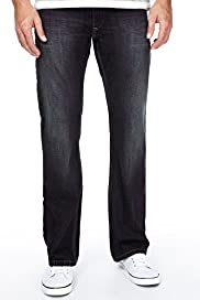 North Coast Denim Boot Cut Belted Jeans