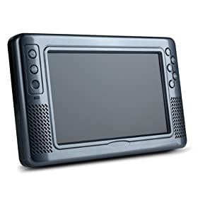 Pegasus ATSC ST09-G 9-Inch LCD TV with Build-in Li-on Battery