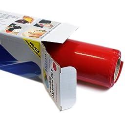 Tenura 75376-1301 Red Silicone Non-Slip Roll, 3-1/5\' Length x 11-4/5\