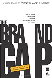 "Cover of ""The Brand Gap: Expanded Edition..."