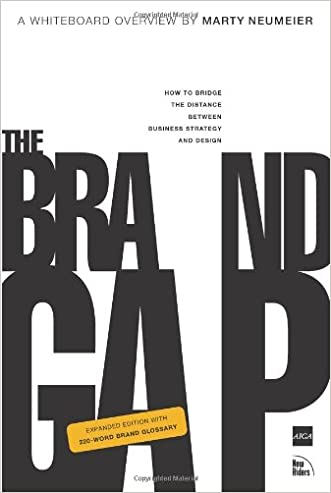 The Brand Gap: How to Bridge the Distance Between Business Strategy and Design written by Marty Neumeier