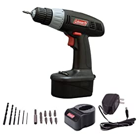 Coleman 14.4 Volt Cordless Rechargeable Drill (2 Year Warranty)