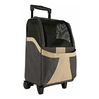 Snoozer Restless Tails Euro Rolling Pet Carrier