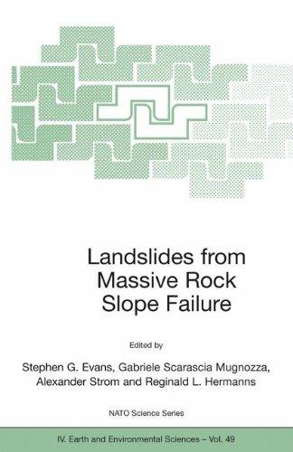 Landslides from Massive Rock Slope Failure (Nato Science Series: IV:)