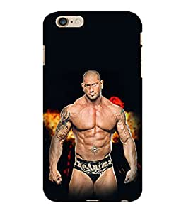printtech Wwe Batista The Animal Back Case Cover for Apple iPhone 6 Plus
