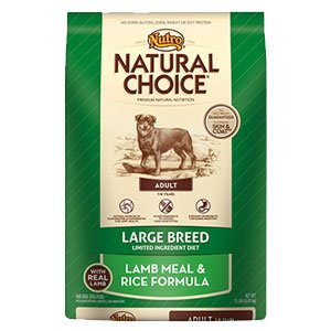 Nutro Large Breed Adult Lamb Meal & Rice Formula - 30 Lbs
