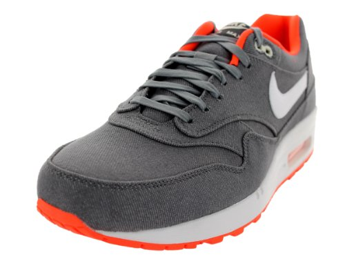 Nike Men'S Air Max 1 Prm Cool Grey/White/Ttl Crimson/Sl Running Shoe 13 Men Us front-406496