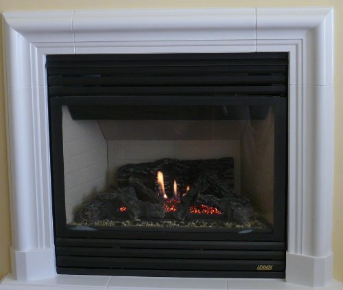 Corsica Precast Fireplace Mantel and Surround in TraverStone (Precast Fireplace Mantel compare prices)
