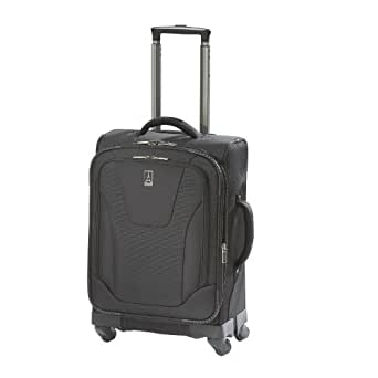 "Travelpro Luggage Maxlite 2 20"" Expandable Spinner, Black, One Size"