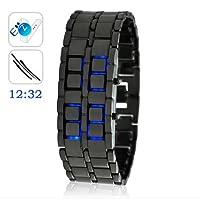 Japanese Style Blue LED Watch