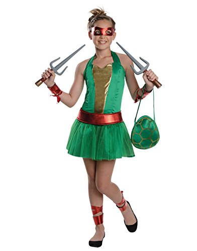 Teenage Mutant Ninja Turtles Sassy Tween Girl's Raphael Costume