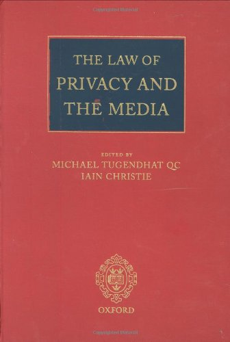 The Law of Privacy and the Media