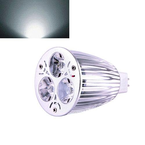 Ultra Bright Mr16 12W Led Dimmable Spot Light Downlight Lamp Bulb Pure White Fashion Partical