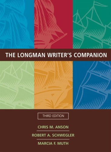 Longman Writer's Companion (with MyCompLab), The (3rd Edition) (MyCompLab Series)