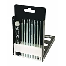 Wiha 26999 System 4 Precision Blade Set, Hex Metric, 9 Piece