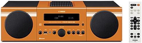 ヤマハ マイクロコンポ  CD/USB/FM・AMラジオ/Bluetooth対応クロックオーディオ オレンジ MCR-B043(D)