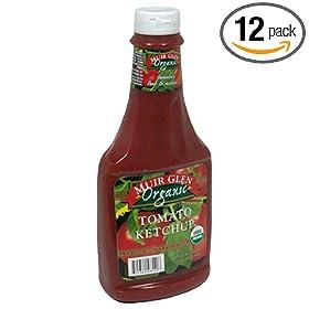 ganic Tomato Ketchup, 24-Ounce Plastic Bottles (Pack of 12): Amazon.com