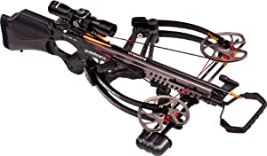 Barnett Vengeance Crossbow with 3x32mm Scope Package, 140-Pound Draw Weight, Carbon Black