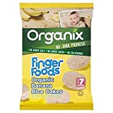 Organix Finger Foods Organic Banana Rice Cakes Stage 2 From 7+ Mths 50G