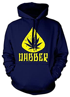 Cybertela Marijuana Dabber Sweatshirt Hoodie Hoody