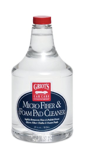 Griot's Garage 11078 Micro Fiber and Foam Pad Cleaner - 35 oz.