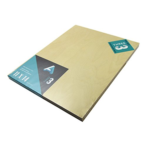 Aa Super Value Wood Panel 5Mm 11X14 Pk/3 (Mdf Panel compare prices)