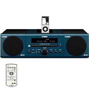 Yamaha MCR-040DBU Micro Component System (Dark Blue) (Discontinued by Manufacturer)