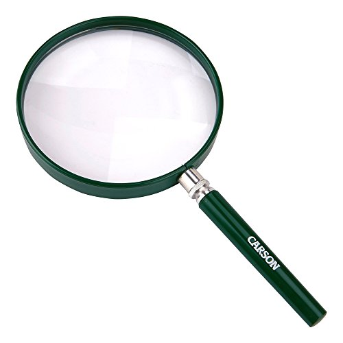 Carson HU-20AMMU BigEye Magnifier with Oversized Lens (Set of 10), 5""