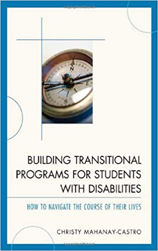 Book cover: building transitional programs for students with disabilities