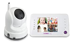 Lorex BB3525 Care 'n Share Baby Monitor with Auto-Tracking Pan/Tilt Camera that Follows Baby Movement (White)