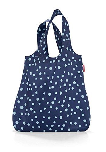 reisenthel Mini Maxi Shopper Reusable Shopping Bag, Spots Navy (Mini Shopping Bags compare prices)
