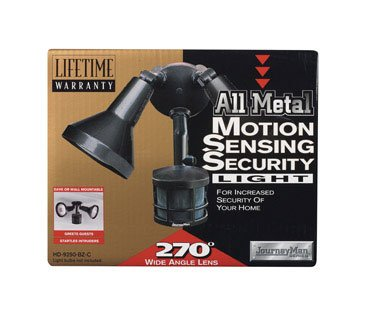 Buy Motion Sensor Flood Light, Bronze