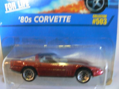 Hot Wheels '80s Corvette #503 Wire Spokes - 1
