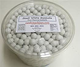 Small White -Tub of Gumballs
