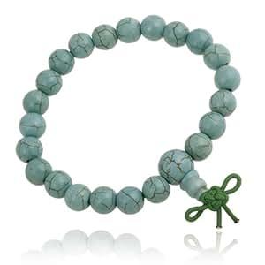 howlite 8mm power bead stretch bracelet jewelry