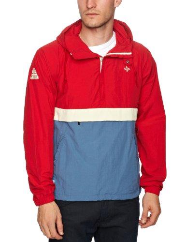 Addict Eavis Men's Smock Jacket Red/Blue Medium