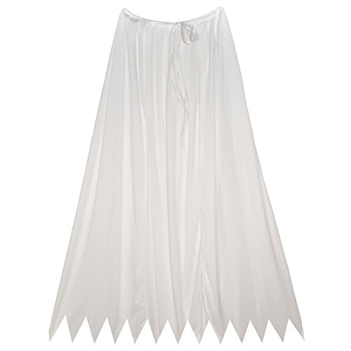 "SeasonsTrading 32"" White Cape ~ Halloween Costume Accessory"