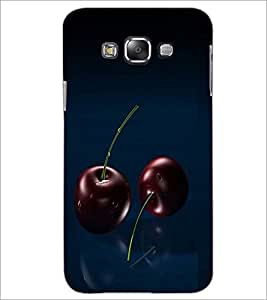PrintDhaba Cherries D-1061 Back Case Cover for SAMSUNG GALAXY A8 (Multi-Coloured)