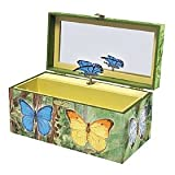 Butterflies Music Box