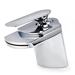 Washroom Taps : ... Waterfall Basin Sink Washroom Mixer Tap: Amazon.co.uk: Kitchen & Home