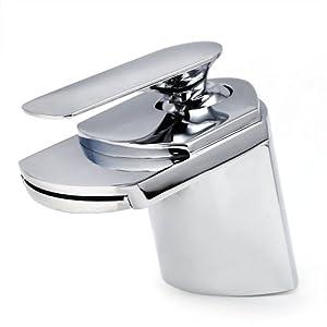 Washroom Taps : ... Waterfall Basin Sink Washroom Mixer Tap: Amazon.co.uk: Kitchen & Home