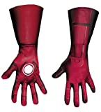 Disguise Marvel's Avengers Movie Iron Man Deluxe Gloves Adult, Red/Gold, One Size Costume thumbnail