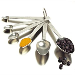Amco Measuring Spoons, Set of 6 by Amco