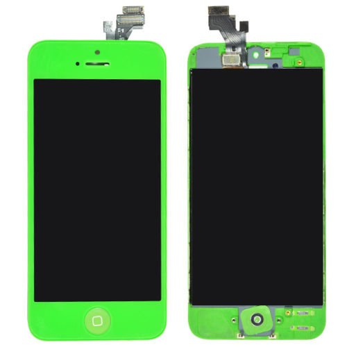 Flylinktech® Lcd Display & Touch Screen Digitizer Assembly Replacement For Iphone 5 (Green)