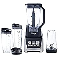 Ninja Blender Duo with Auto-iQ and Recipe Book - Refurbished