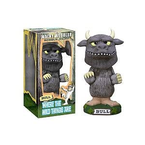 Where the Wild Things Are Bull Wacky Wobbler